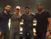 تحضيرات محمد حماقى لألبومه الجديد مع بهاء الدين ونادر حمدى وسونى