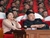 لأول مرة.. ظهور زوجة زعيم كوريا الشمالية للاحتفال بإطلاق صاروخ عابر للقارات