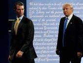 """ترامب يشيد ب""""شفافية"""" ابنه البكر بعد إعلانه الالتقاء بمحامية روسية"""