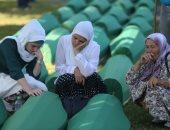 بالصور.. دفن ضحايا جدد لمذبحة سريبرينيتسا بالبوسنة تزامنا مع ذكراها الـ 21