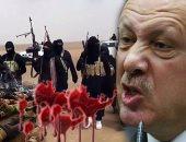 أردوغان يعترف بإرسال إرهابيى الرقة السورية إلى سيناء