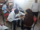 إجراء تحاليل لسكان قرى بالدقهلية للكشف عن فيروس C مجانا