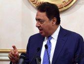 وزيرا الصحة والسياحة يزوران السياح مصابى هجوم الغردقة بمعهد ناصر