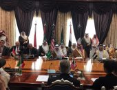 المتحدث باسم الخارجية ينشر صور لبدء اجتماعات الوزراء العرب الأربع فى جدة