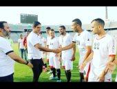 أبو هشيمة يشارك الفريق الوطنى للصم والبكم فى التدريبات النهائية قبل السفر للأولمبياد