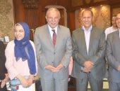 محافظ المنيا يكرم أوائل الثانوية العامة