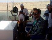 بالصور.. رئيس التنظيم والإدارة عقب زيارة مشروعات قناة السويس: الغد أفضل