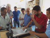 سكرتير عام محافظة جنوب سيناء يتفقد مراحل تشغيل مصنع لمبات الليد