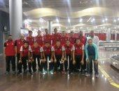 منتخب ناشئين كرة السلة يخوض تدريب صباحى بموريشيوس