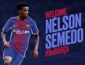 رسميا.. برشلونة يعلن ضم نيلسون سيميدو ظهير أيمن بنفيكا