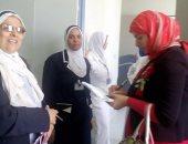 بالصور ..صحة بنى سويف : حل أزمة الأكسجين السائل بمستشفى الفشن المركزى