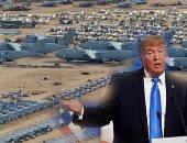 """""""عين ترامب الحمرا"""" فى وجه """"إمارة الإرهاب"""".. الرئيس الأمريكى يتوعد الدوحة بنقل قاعدة """"العديد"""".. ويؤكد: إذا اضطررنا للرحيل لدينا 10 دول بديلة.. أبلغنا الإمارة بضرورة وقف تمويل الإرهاب.. والتطرف وحش علينا """"تجويعه"""""""