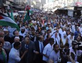بالصور.. مسيرة بعمان احتجاجا على ممارسات الاحتلال بحق المسجد الأقصى