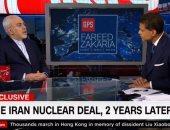 وزير خارجية إيران لـCNN: الولايات المتحدة انتهكت روح الاتفاق النووى