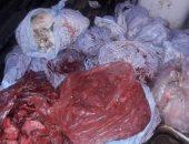 ضبط 110 كيلو لحوم وكبدة غير صالحة للاستهلاك الآدمى بمطاعم فى وسط البلد