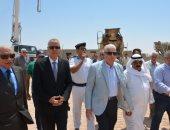 وفد بنك الاستثمار القومى يتفقد عدد من المشروعات التعليمية بجنوب سيناء