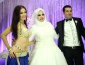 "بالصور.. دياب وأمينه وماريس يشعلون حفل زفاف ""سامح ومنى"" بحضور نجوم المجتمع"