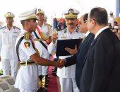 بالصور.. الرئيس السيسى يشهد احتفال أكاديمية الشرطة بيوم الخريجين