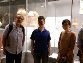 بالصور.. وفد من الجايكا اليابانى يزور متحف الحضارةّ