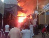 الصحة: إصابة 9 مجندين تابعين للحماية المدنية باختناق فى حريق أسوان