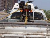 بالصور.. محافظ كفر الشيخ يضبط سيارة مجهولة بدون لوحات