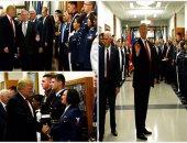 ترامب يزور البنتاجون للمشاركة فى اجتماع الاستراتيجية العسكرية للبلاد