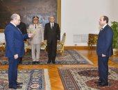 أحمد أبو العزم يحلف اليمين أمام السيسى رئيسا لمجلس الدولة