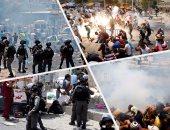 الاحتلال الإسرائيلى يعتدى على المصلين فى الضفة الغربية والقدس المحتلة