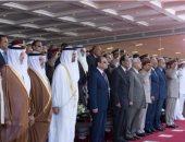 محمد بن زايد ينشر صورا من حفل افتتاح قاعدة محمد نجيب العسكرية عبر إنستجرام
