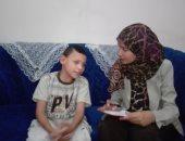 """بالصور.. طفل يترك أسرته هربا من التسول.. ويؤكد:""""مش عاوز أرجع تانى"""""""