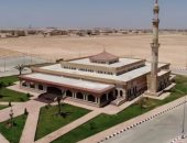 """بالصور.. مسجد قاعدة محمد نجيب """"رسالة وفاء لاسم الشهيد محمد لطفى يوسف"""""""