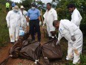 بالصور.. إستخراج 3 جثث بعد العثور على مقبرة جماعية فى هندوراس