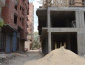 بالصور.. تشكيل لجنة فنية لإزالة مبنى ومناقشة 43 شكوى للمواطنين بكفر الشيخ