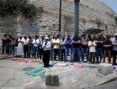 الاحتلال الإسرائيلى يحاول منع المصلين من دخول المسجد الأقصى لأداء صلاة الفجر