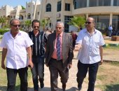 بالصور ..السكرتير العام والمساعد للإسماعيلية يتفقدان أندية وشواطئ المحافظة