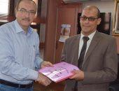 محافظ بنى سويف يوقع بروتوكول مع هيئة المساحة لحصر جميع أملاك الدولة