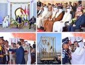 الرئيس السيسي يفتتح قاعدة محمد نجيب العسكرية الأكبر بالشرق الأوسط