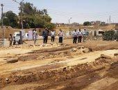 محافظ  سوهاج : إنشاء موقف للسيارات بمدينة أخميم بتكلفة 675 ألف جنيه