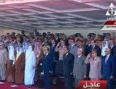 السيسى يشاهد فيلما تسجيليا عن التدريبات المشتركة مع القوات العربية الشقيقة