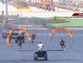 السيسى يشهد عرضاً عسكرياً لقوات الصاعقة يُظهر الكفاءة العالية لرجال الجيش