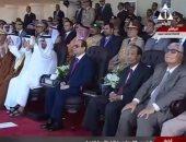 بالفيديو.. محمد بن زايد يصور العرض الجوى للطائرات المقاتلة بهاتفه المحمول