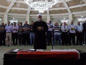 تشييع جنازة المذيع عمرو سمير بمسجد الشرطة
