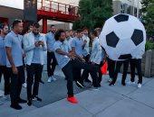 """بالصور.. ريال مدريد يزور مقر شركة """"فيس بوك"""" فى كاليفورنيا"""