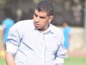 خالد مهدى مدير الكرة بالإنتاج الحربى يتعرض لحادث سير