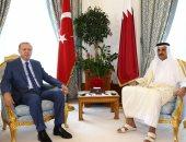 """استمرار لدعم تركيا للإرهاب..""""سفاح أنقرة"""" يلتقى """"أمير الإرهاب"""" فى الدوحة"""