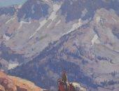 بالصور... لوحات مناظر طبيعية قبل بيعها فى مزاد بونهامز