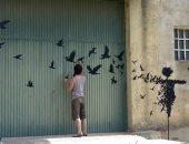 جمعية برتغالية تدرب كبار السن على الرسم على الجدران