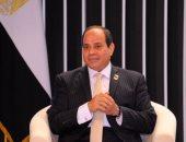 """الرئيس السيسى للمصريين: """"تحديتم أقوى تنظيم بالعالم يحكم دولاً"""