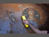 شاهد.. العثور على لوحة فيسفسائية عن حرب طروادة فى تركيا