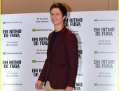 آنسيل إلجورت وإدجار رايت بالعرض الخاص لفيلم Baby Driver بالبرازيل